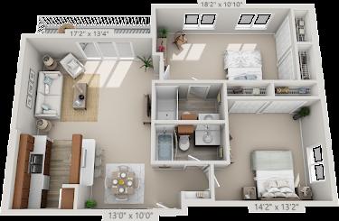 Essex Plus Floorplan Diagram