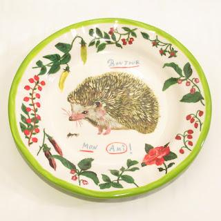 Nathalie Lété Hedgehog Plate