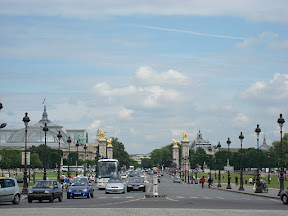 Pont Alexandre III with the Grand Palais on the left
