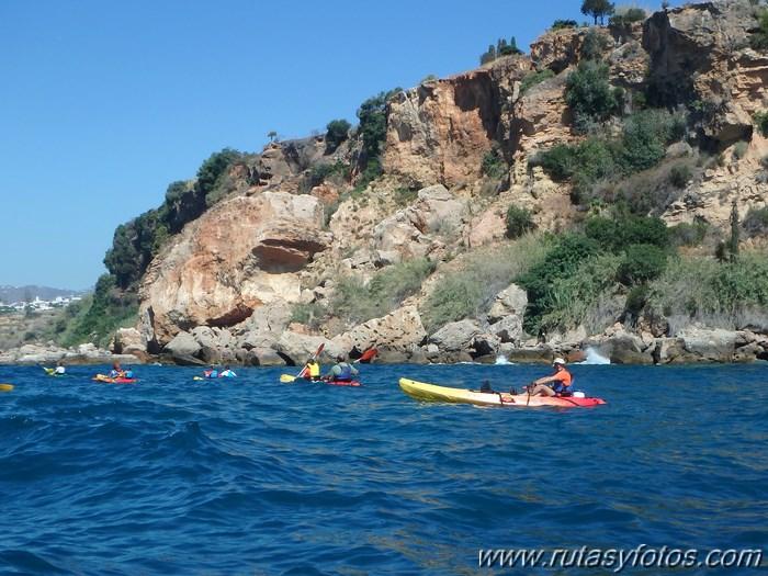 Kayak Playa de Burriana - Acantilados de Maro