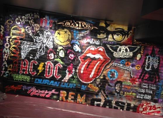 Coda graffiti wall