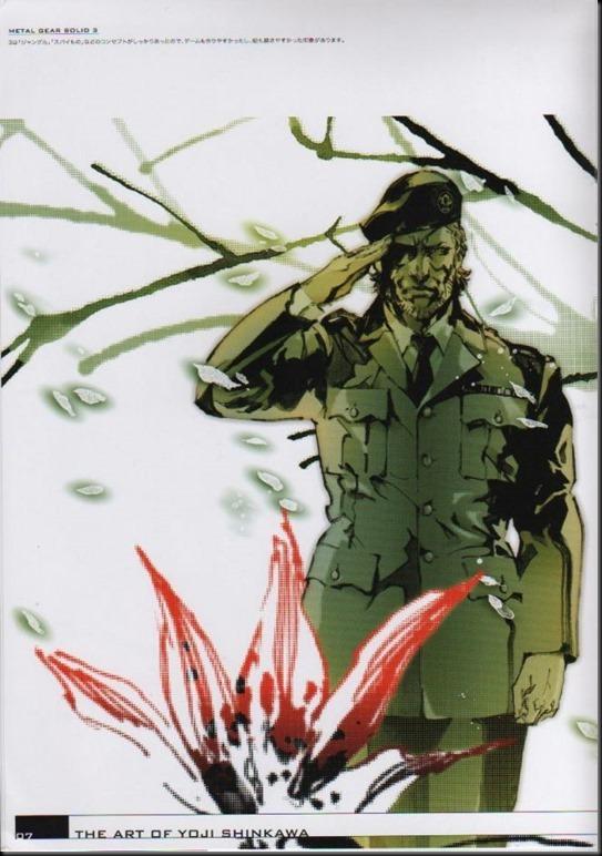 The Art of Yoji Shinkawa 1 - Metal Gear Solid, Metal Gear Solid 3, Metal Gear Solid 4, Peace Walker_802479-0011