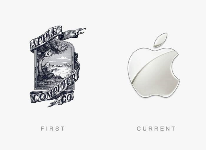 brand logos with theri first and final design (5)