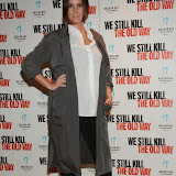 WWW.ENTSIMAGES.COM -  Lauren Socha    arriving at      We Still Kill The Old Way - private film screening at The Ham Yard Hotel, London September 29th 2014Private screening of forthcoming film about a group of former 1960s gangesters who come out of retirment to take on a group of youths after one of their number is murdered.                                                 Photo Mobis Photos/OIC 0203 174 1069