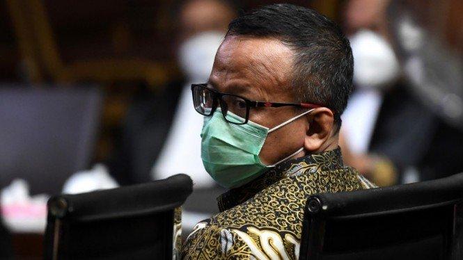 Edhy Prabowo Mohon ke Hakim Minta Dibebaskan