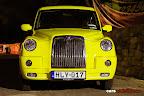 Yellow Retro London Taxi