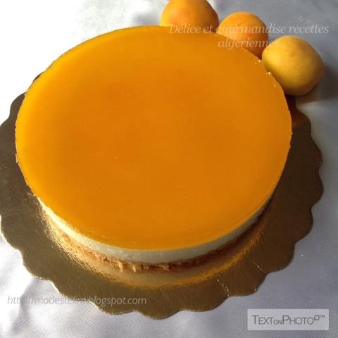 G teau miroir aux abricots for Miroir de sucre