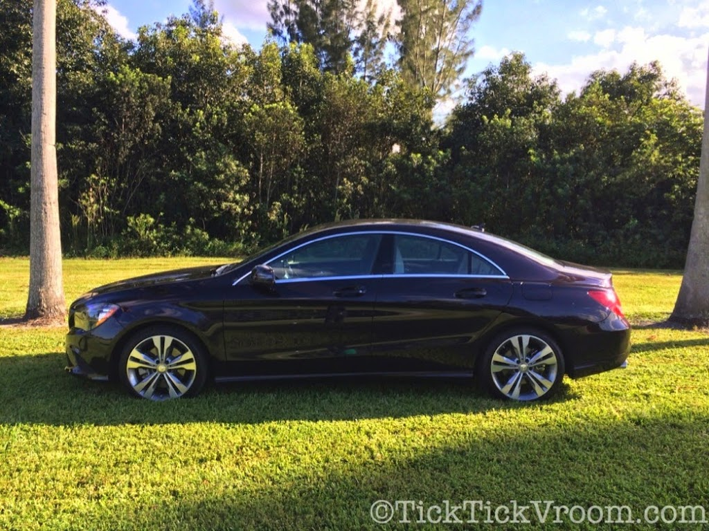 2014 Mercedes-Benz CLA250 Long-Term Test Car - Northern Lights Violet Metellic Long Term Review Road Test 4015