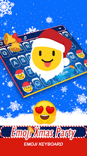 Emoji Xmas Party Theme&Emoji Keyboard - náhled