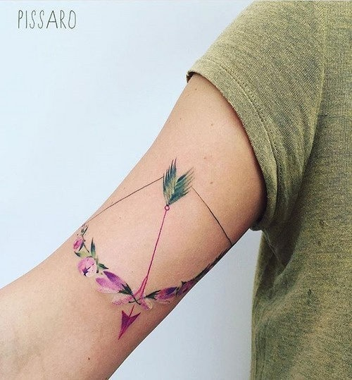 este_delicioso_arco_e_flecha_tatuagem