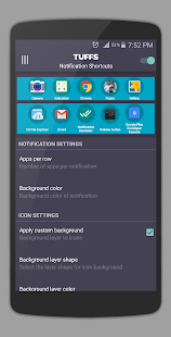 App Shortcuts - Easy App Swipe (TUFFS Pro) Screenshot