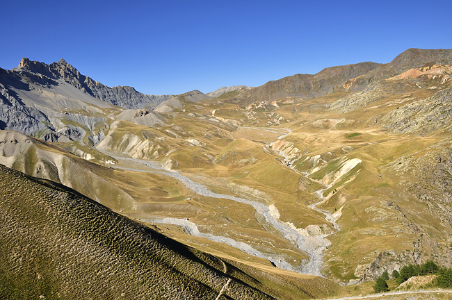 Traversée des Alpes, du lac Léman à la Méditerranée Gr5-briancon-mediterranee-salso-moreno-2