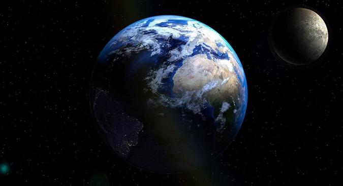 NASA publica vídeo de sombra sinistra atravessando a Terra
