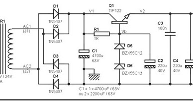 24 volt dc power supply circuit diagram schematic simple schematic collection