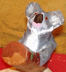 Paper Mache Kaola by Dario