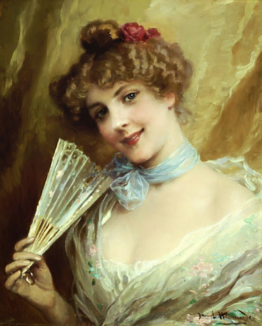 Daniel Hernández Morillo - Lady With A Fan