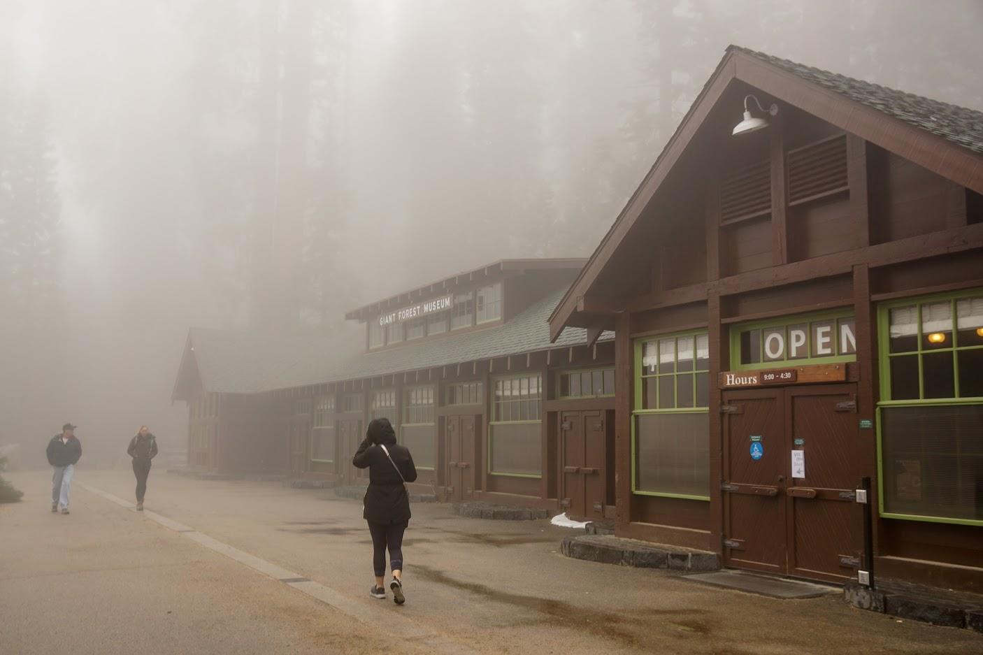 Sequoia National Park Visitor Centre