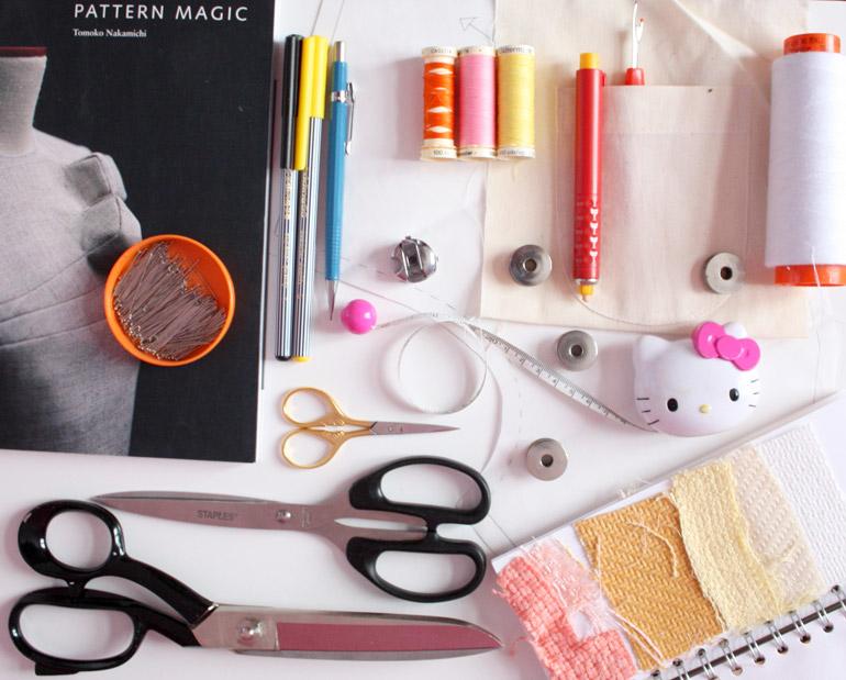 fashion student design fabric pattern cutting manufacturing
