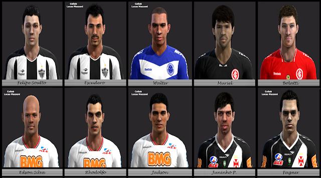 Facepack Brasileirão - PES 2012