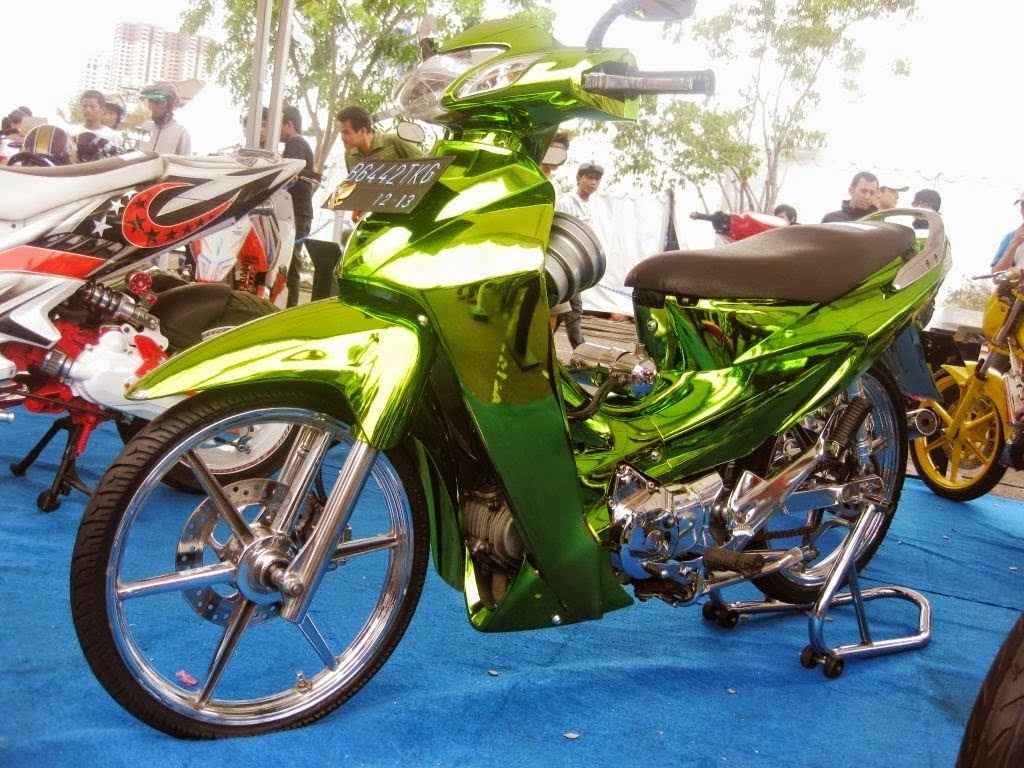 Modifikasi Honda Karisma