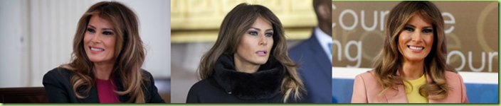 melania looking mahvelous