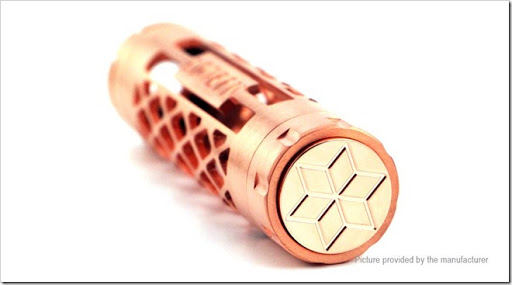 5078500 1 thumb%25255B2%25255D - 【メカニカル】「ADVKEN Honeycomb 18650 Mechanical Mod」ハチの巣形状でバッテリーが見える!【時事:Officeが無料で使える】