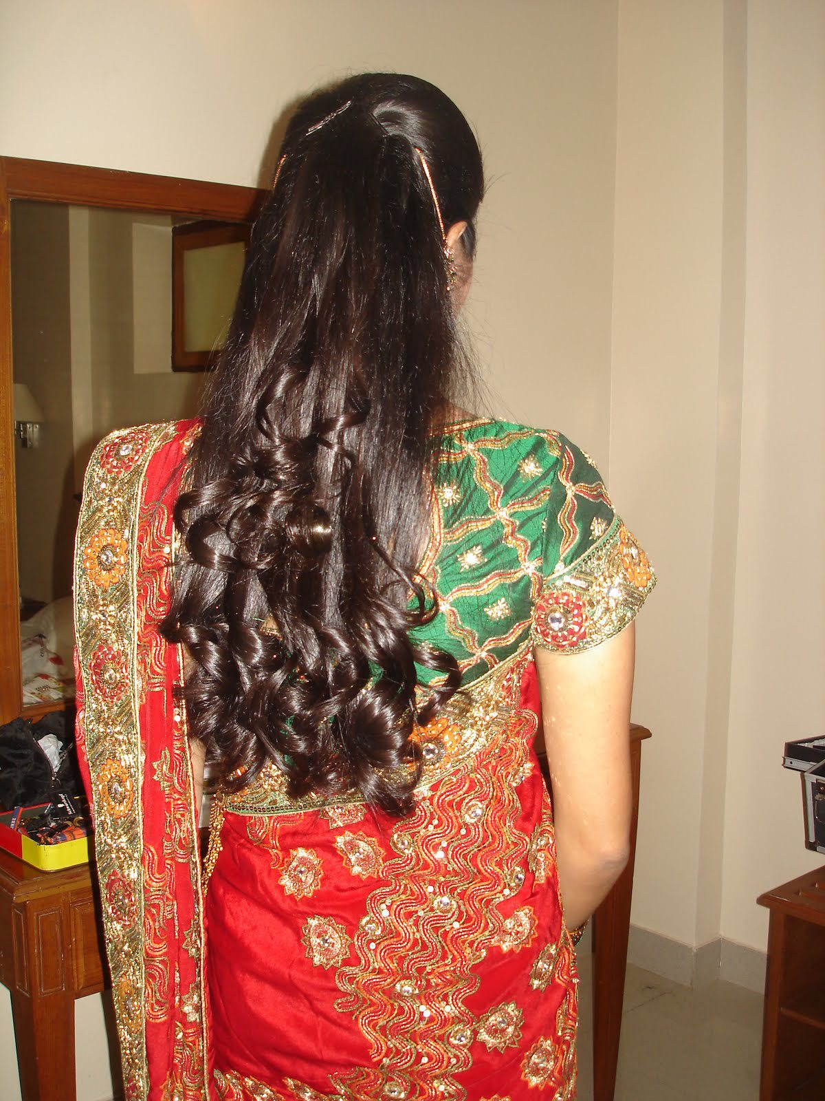 north indian bridal hairstyles | trend hairstyle and haircut ideas