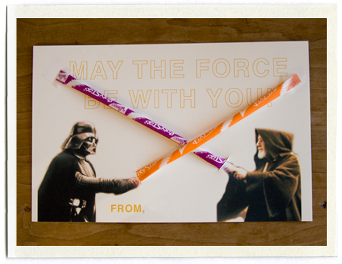 Star Wars Pixie Stick Valentine
