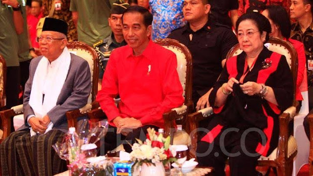 Heboh, Megawati Minta Jokowi Cari Pengganti Maruf Amin