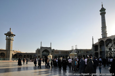 Il mausoleo di Fatima Masumeh a Qom