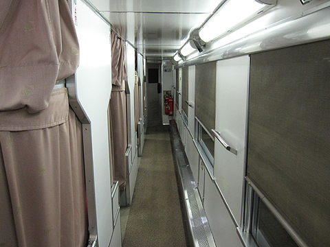 JR夜行列車 急行「はまなす」 B寝台