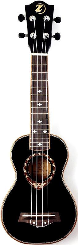 Huayi IZ Ultrathin black Soprano Ukulele