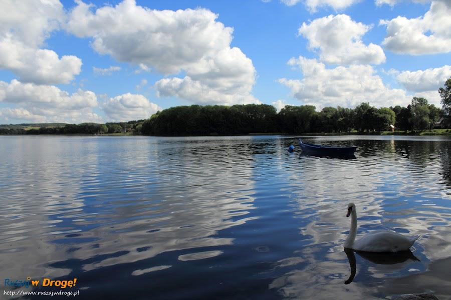 Nad Jeziorem Białym w Chmielnie