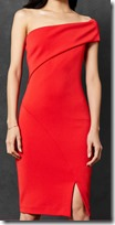 Ted Baker One Sleeve Bardot Dress