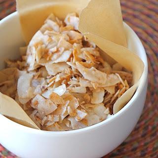Cinnamon-Sugar Coconut Crisps (Sugar-Free)