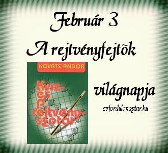 A magyar rejtvényfejtők napja
