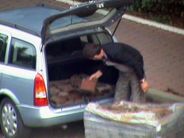 Hoţul de pavele din Suceava