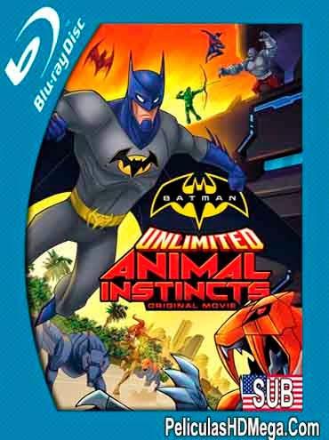 Batman Ilimitado: Instinto Animal (2015) BRRip 720p Sub Español