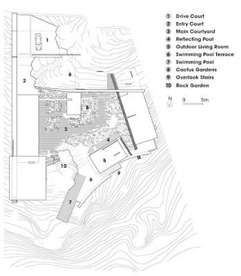 Casa Finisterra 22 Rumah Minimalis Indah Di Tebing Batu