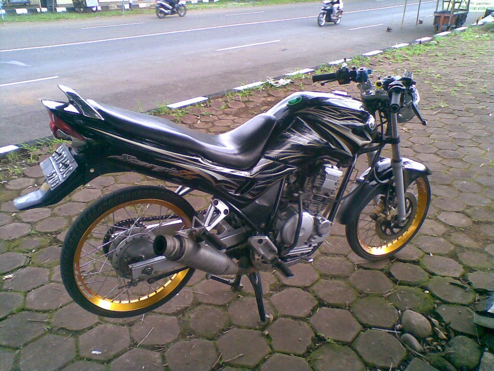 Foto Modifikasi Motor Scorpio Terkeren Dan Terbaru