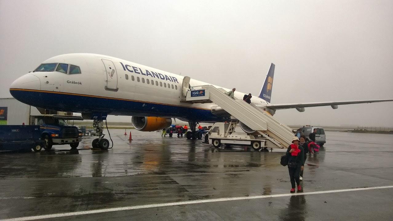 Arrival to Keflavik airport. J-M Kekki