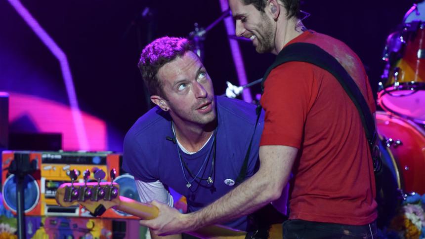 Telekom Street Gig Coldplay