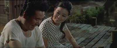 『男はつらいよ 望郷篇』の渥美清と長山藍子