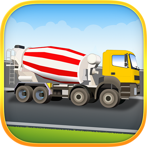 汽車,卡車,汽車拼圖 教育 App LOGO-硬是要APP