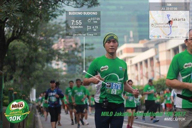 Semaraknya Milo Jakarta International 10K 2017