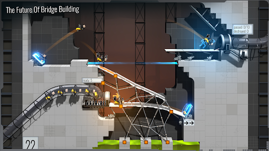 Bridge Constructor Portal (MOD, Paid) 2