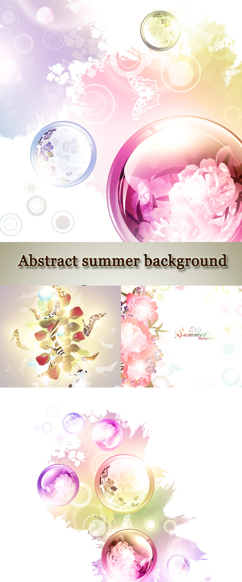Stock: Abstract summer background