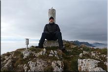 Peña del León mendiaren gailurra 1.392 m. --  2015eko abenduaren 24an