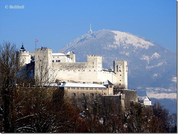 Winterfestung mit Gaisberg