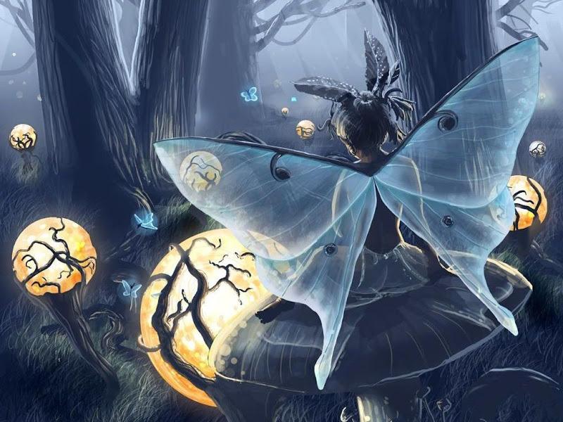 Elegant Sprite Lady, Fairies Girls 2